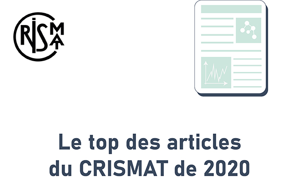 Le top des articles du CRISMAT de 2020